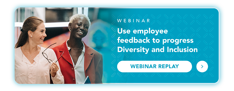 D&I employee feedback webinar replay