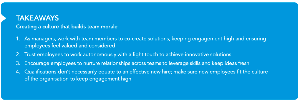 At Henderson Global, there is value in creating a workplace culture that enhances team morale.